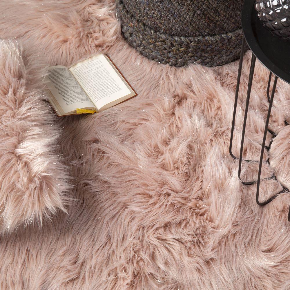 Obsession koberce Kusový koberec Tango 325 Powderpink kruh - 80x80 (průměr) kruh cm