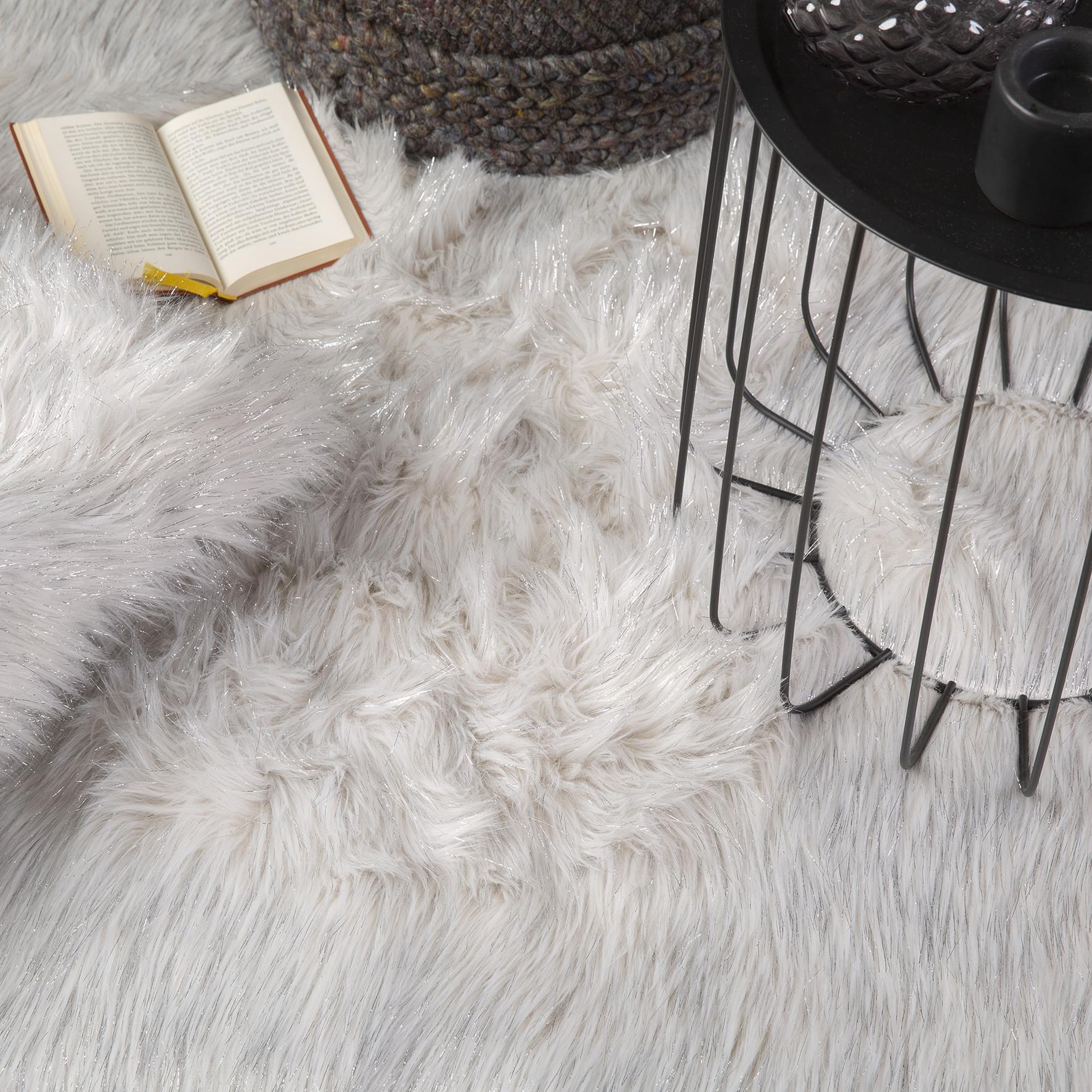 Obsession koberce Kusový koberec Tango 325 Silver kruh - 80x80 (průměr) kruh cm
