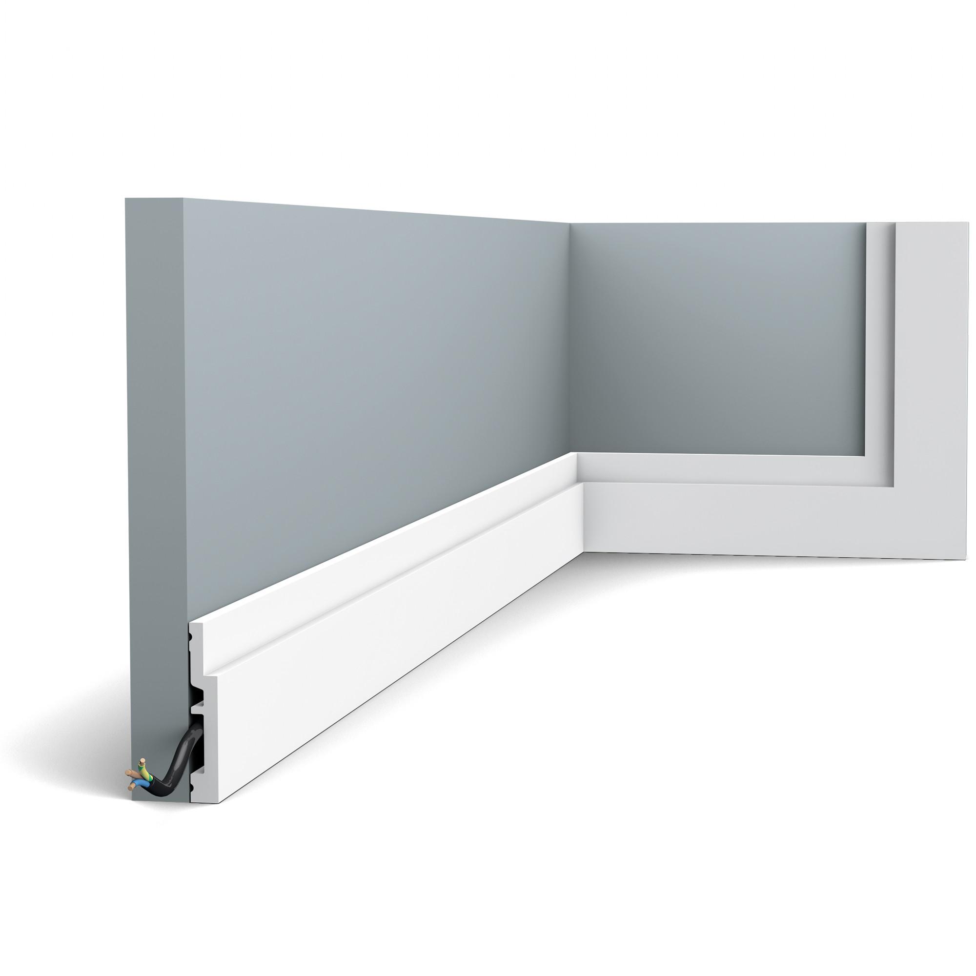 ORAC Decor ORAC stropní a podlahová lišta SX187 - Lišta 12x75x2000 mm