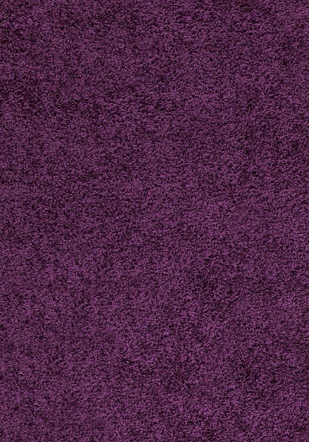 Levně Ayyildiz koberce Kusový koberec Dream Shaggy 4000 Lila - 120x170 cm Fialová