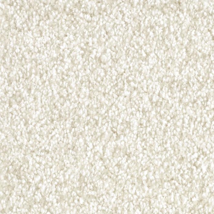 Levně Metrážový koberec Amelia 305 - Rozměr na míru s obšitím cm Bílá