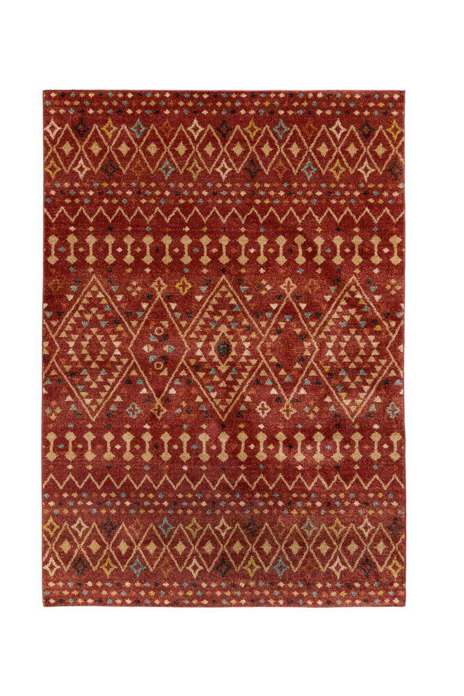 Levně Flair Rugs koberce Kusový koberec Nova Odine Red - 120x170 cm Červená