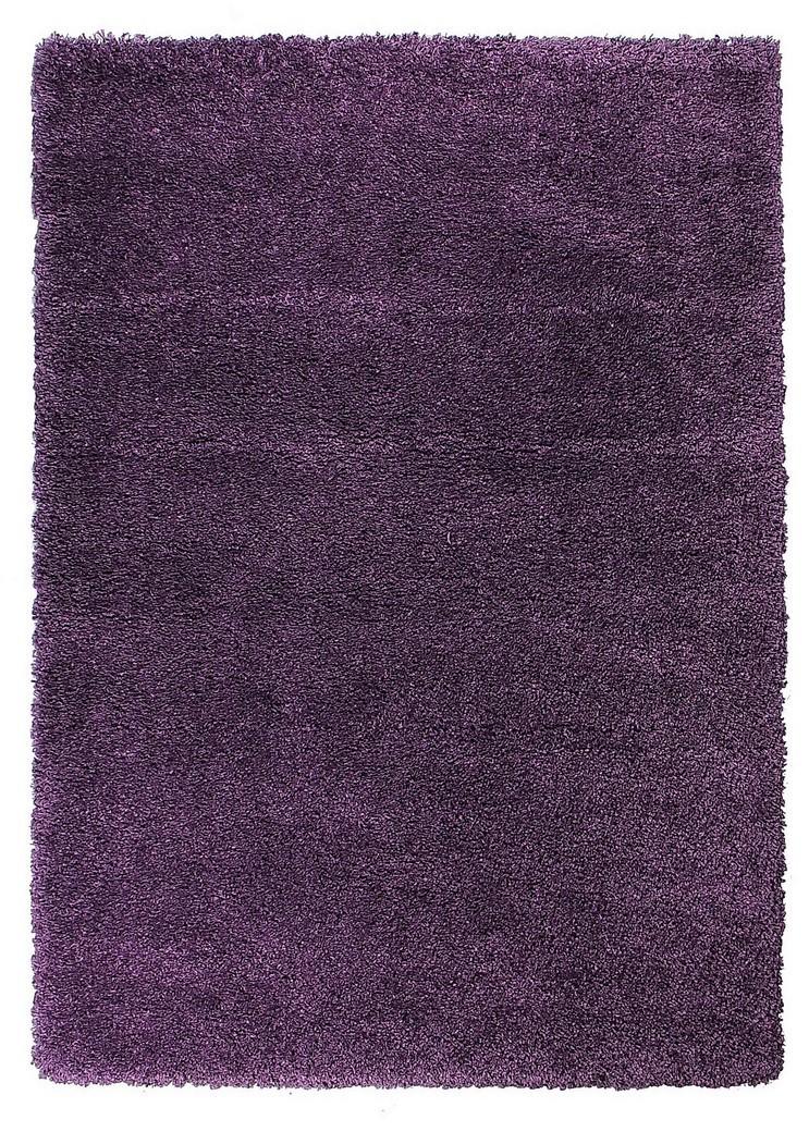 Devos koberce Kusový koberec FUSION 91311 Lila - 140x200 cm