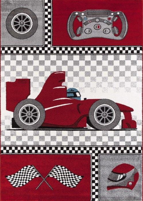 Ayyildiz koberce Kusový koberec Kids 460 red - 120x170 cm