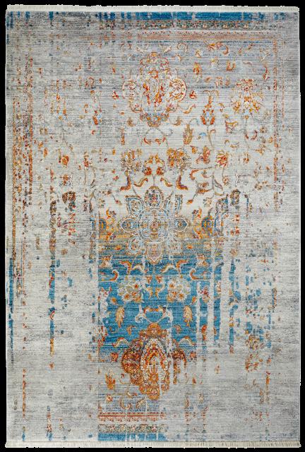 Obsession koberce Kusový koberec Laos 453 BLUE - 160x230 cm