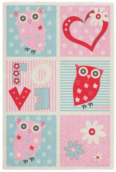 Obsession koberce Kusový koberec Broadway kids 471 LOVE - 80x120 cm