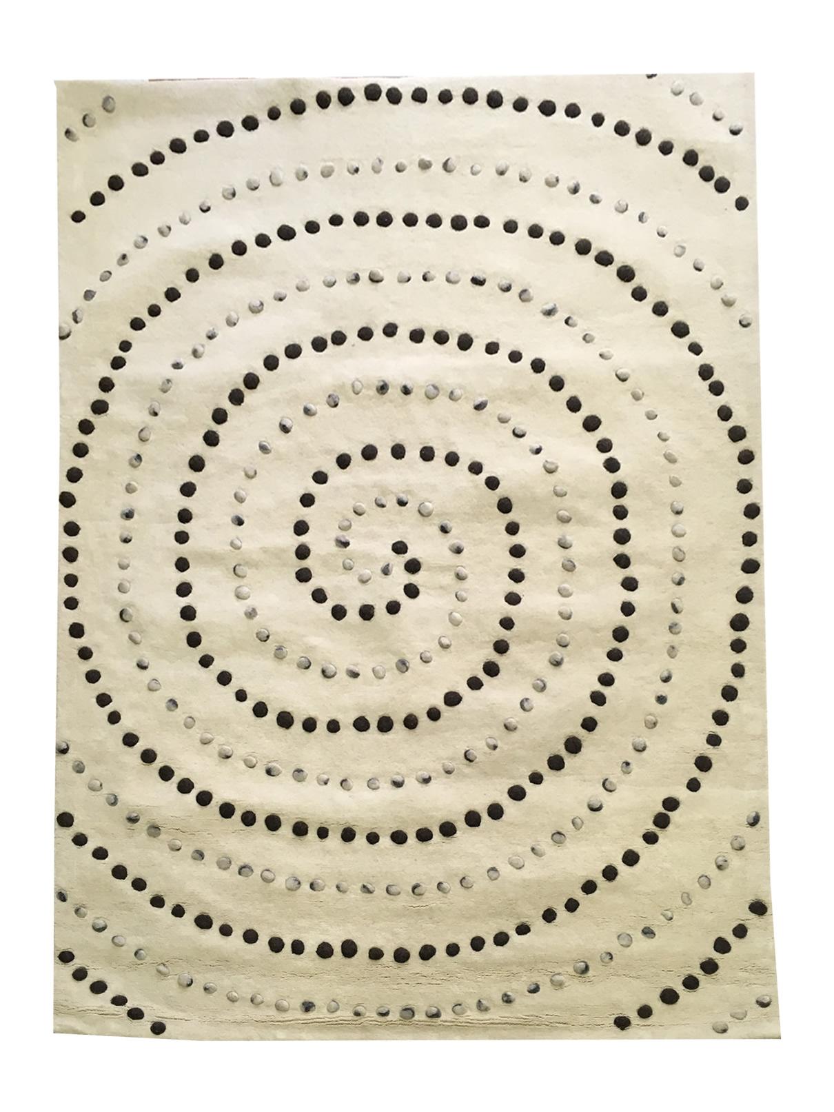 BO-MA koberce Ručně všívaný koberec Caroline (100% vlna, Indie, Panipat) - výprodej - 160x230