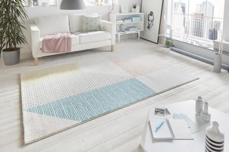 Kusový koberec Madison 102781 creme rose türkis gelb