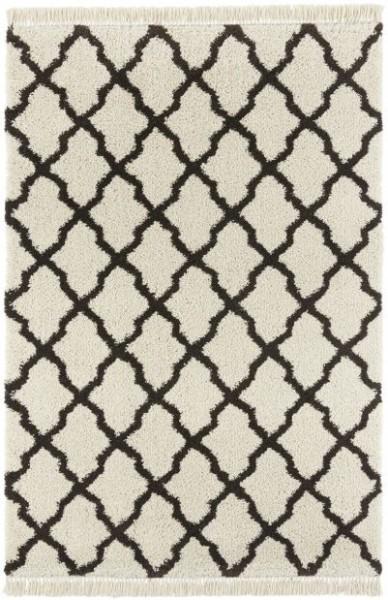 Kusový koberec Desiré 103328 Creme Schwarz