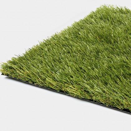 Vopi koberce Umělý trávník – trávníkový koberec Saint Tropéz (cena za m2, neúčtují se zbytky) - Rozměr na míru cm Zelená