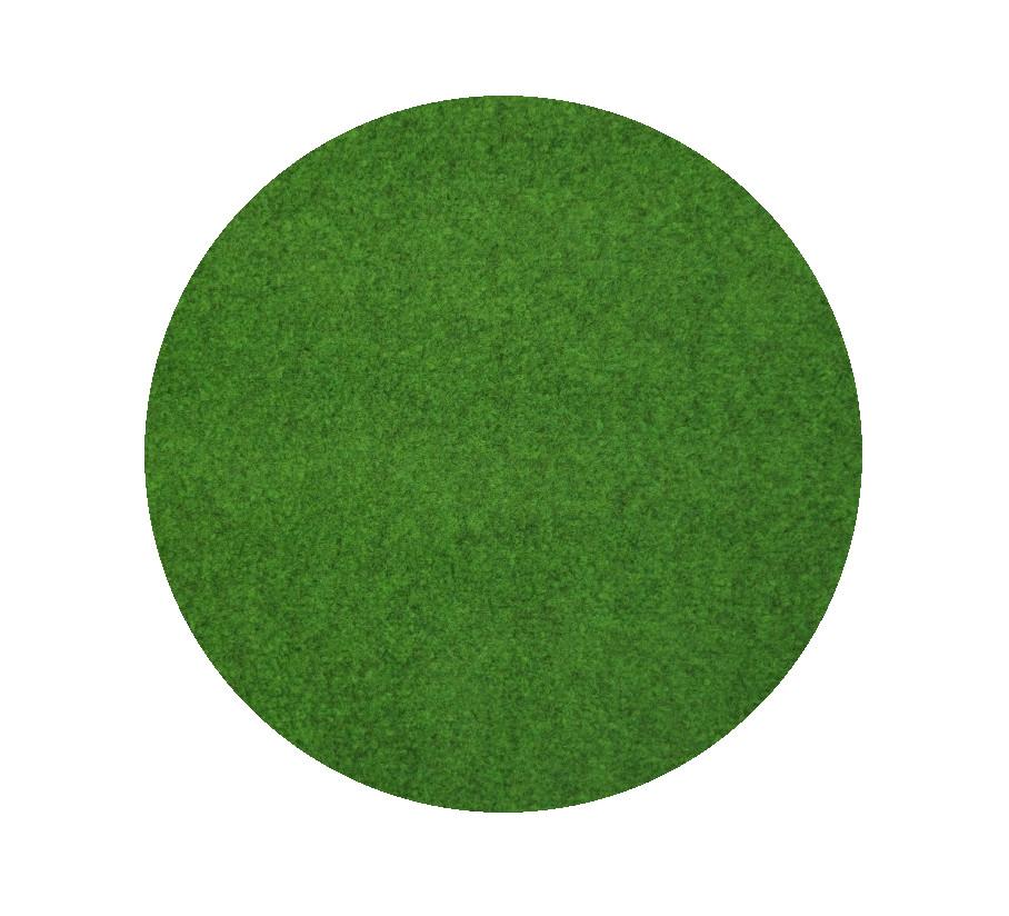 Travní koberec pod bazén Sporting s nopy KRUH (vhodný jako bazénová podložka) - 150x150 (průměr) kru
