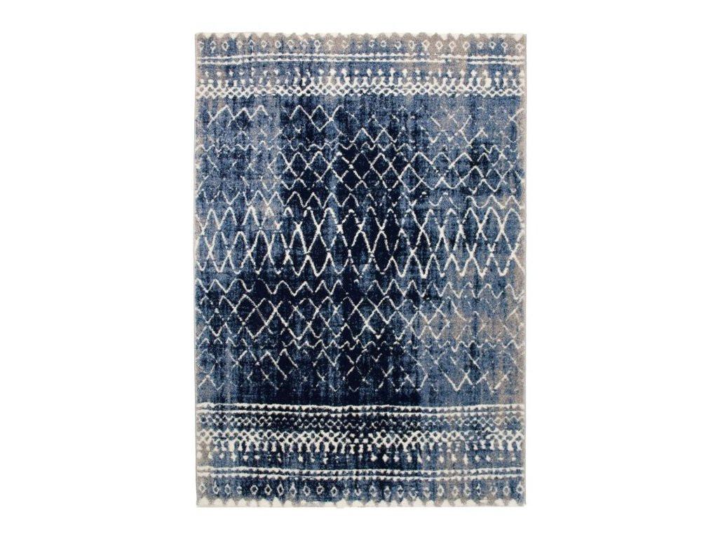 Festival koberce Kusový koberec Loftline K11490-06 Blue - 80x150 cm