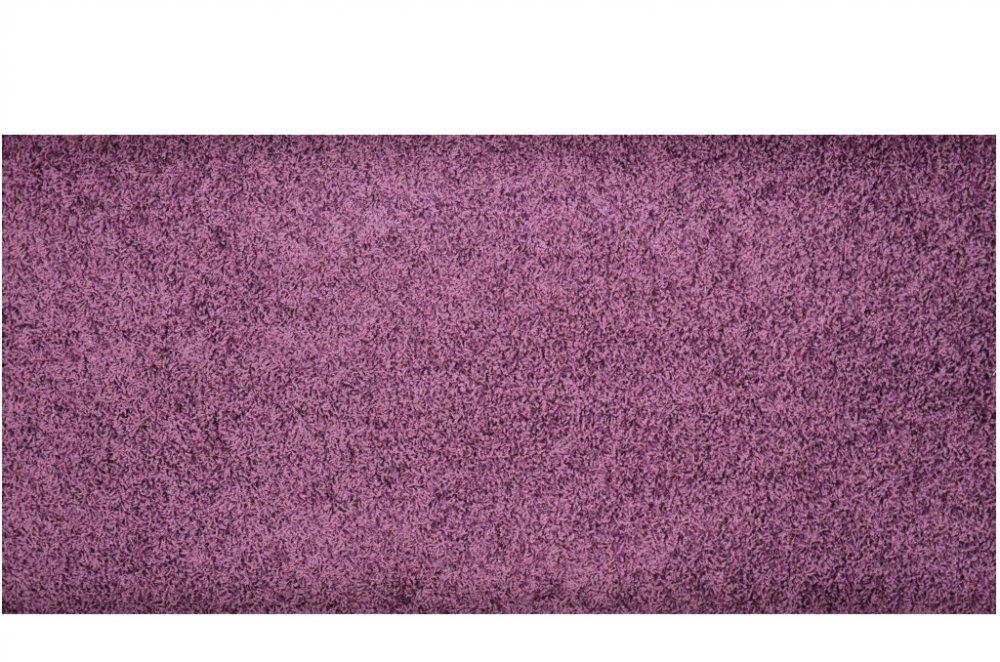 Vopi koberce Kusový koberec Color Shaggy fialový - 80x150 cm