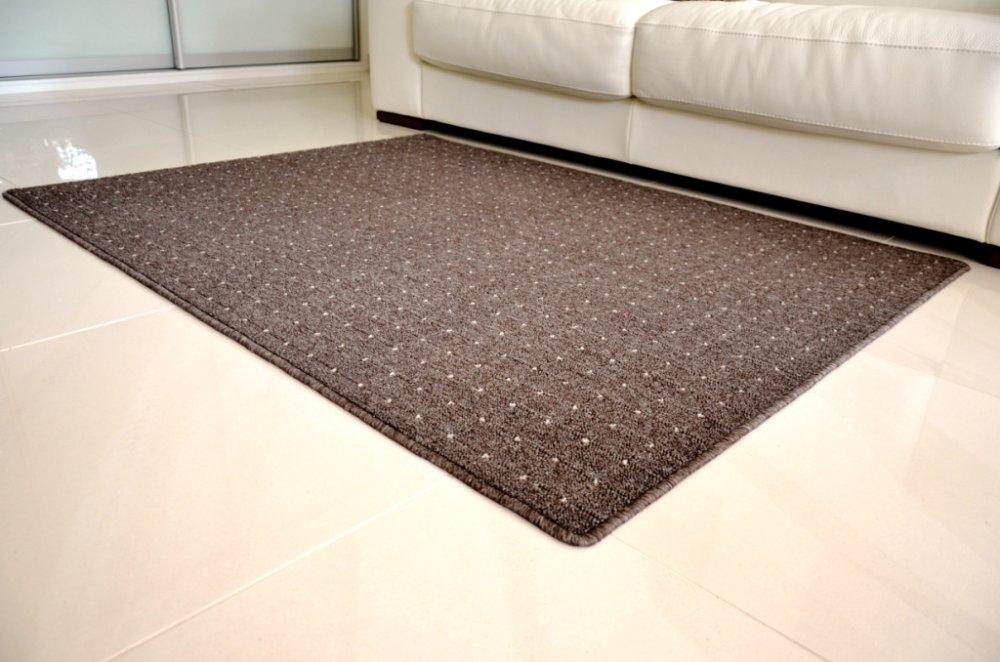 Vopi koberce Kusový koberec Udinese hnědý - 160x240 cm