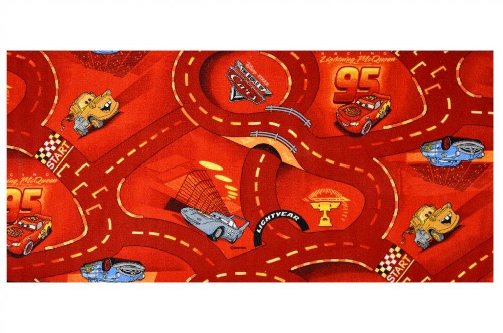 Vopi koberce Kusový koberec The World of Cars 10 - 200x200