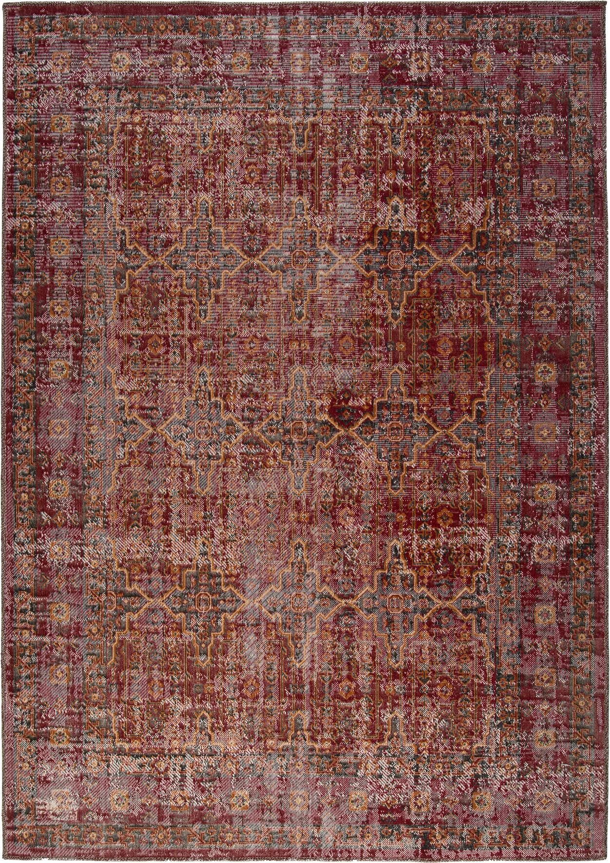 Obsession koberce Kusový koberec Tilas 243 Red - 80x150 cm Expres