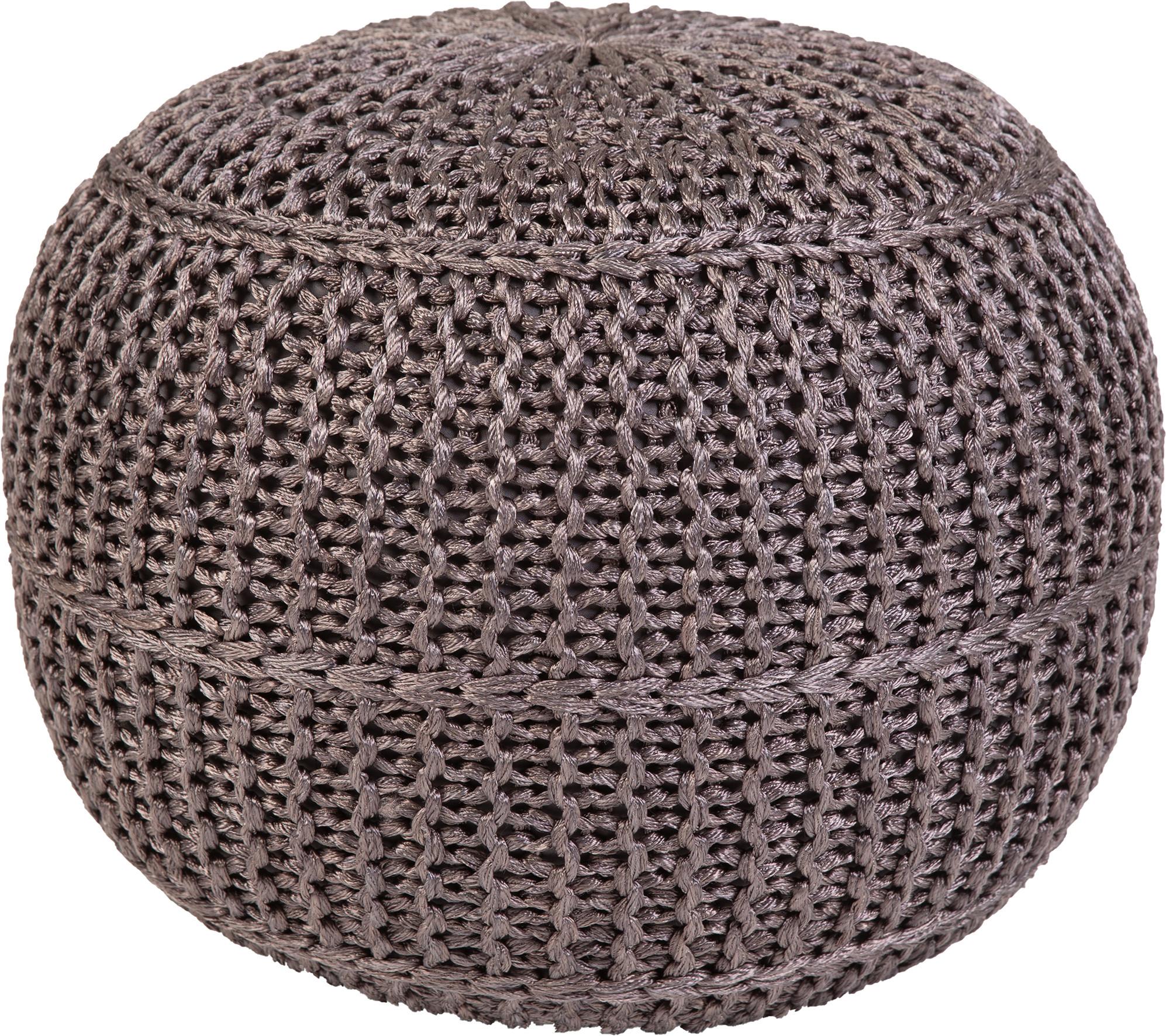 Obsession koberce Sedák Pouf Exo 444 Anthracite - 43x40 cm