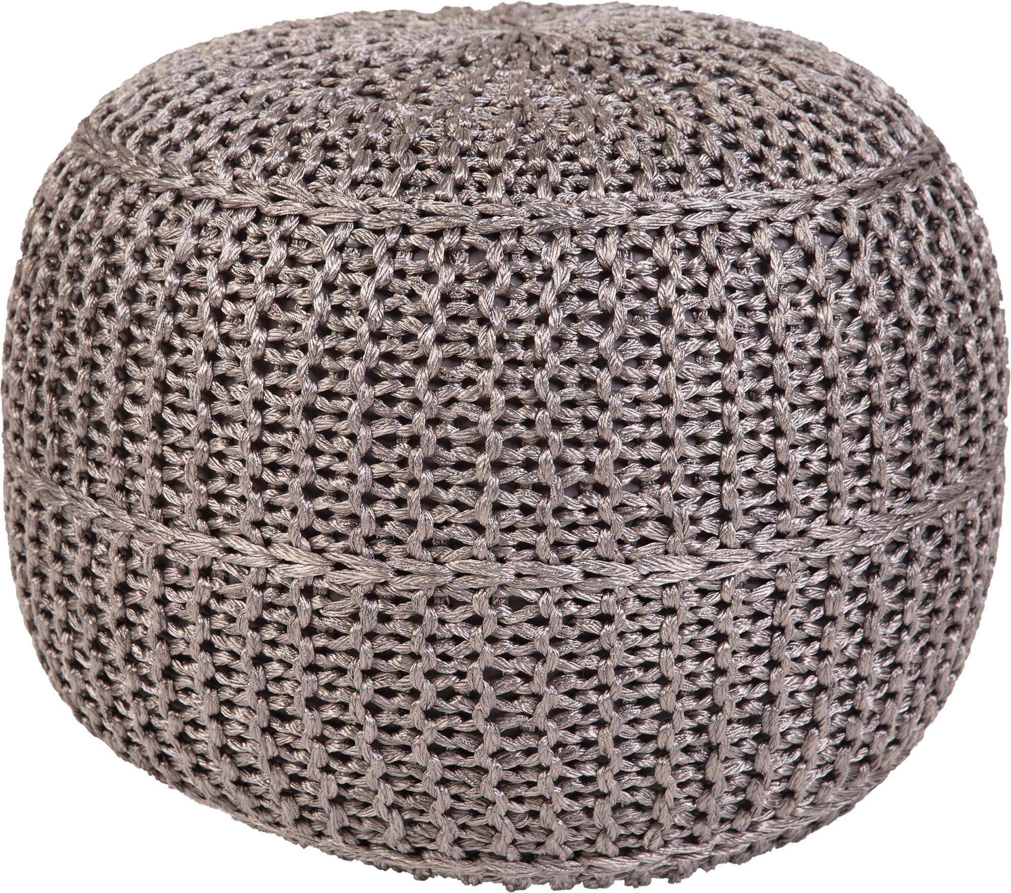 Obsession koberce Sedák Pouf Exo 444 Grey - 43x40 cm