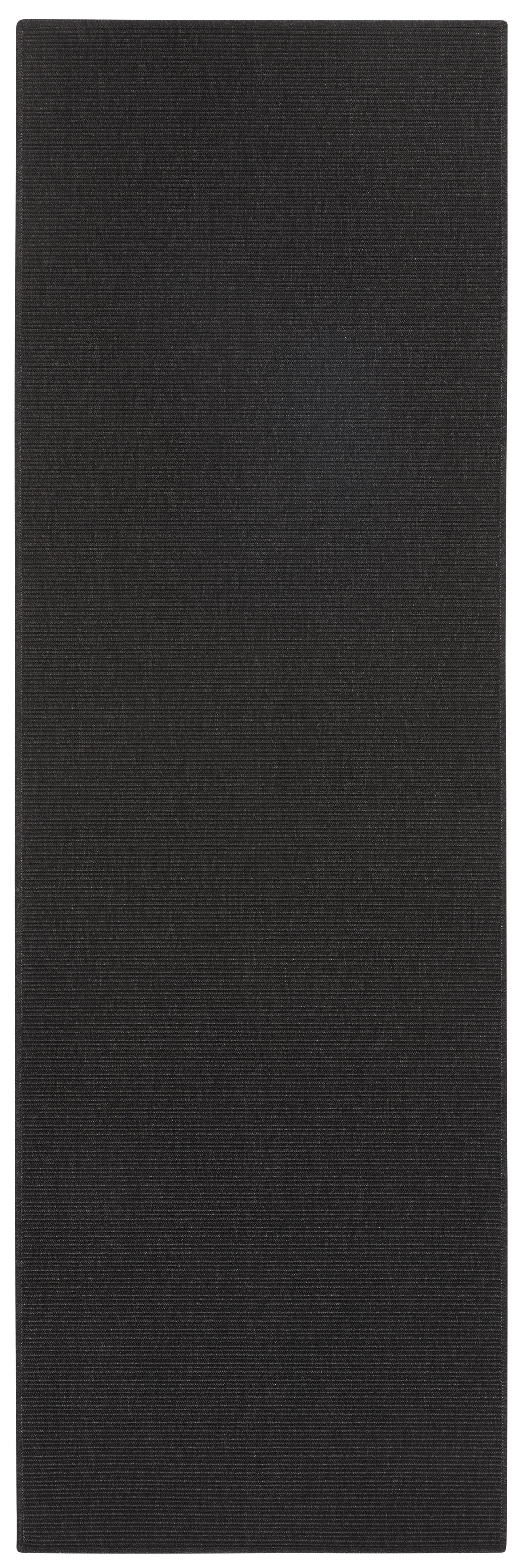 BT Carpet - Hanse Home koberce Běhoun Nature 103534 Black - 80x250 cm