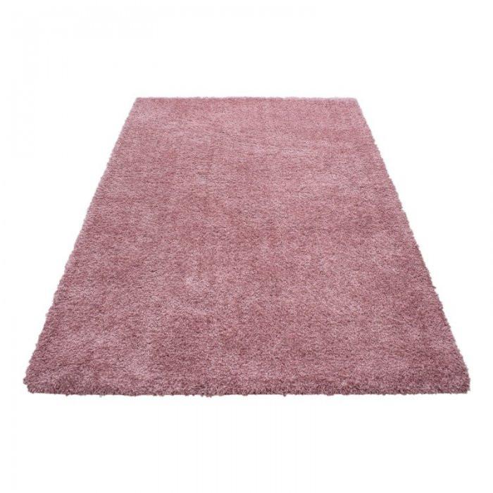 Ayyildiz koberce Kusový koberec Ancona shaggy 9000 rose - 80x150 cm