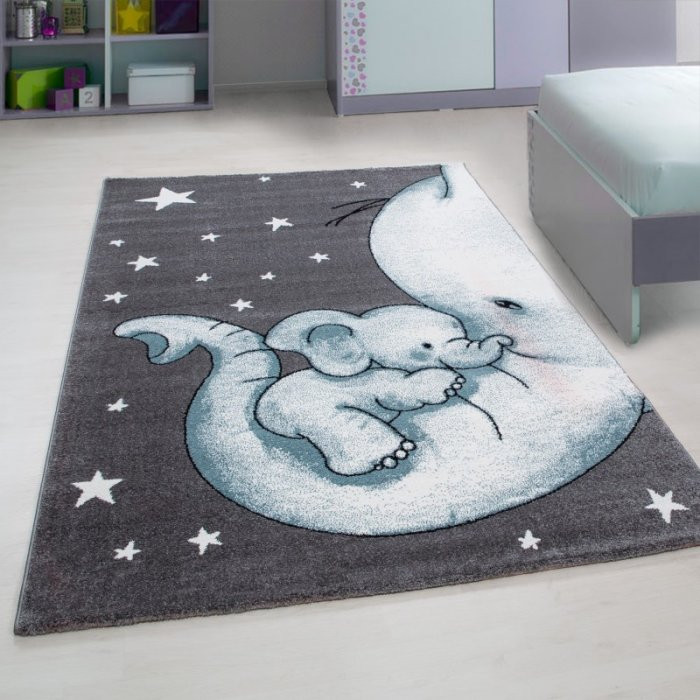 Ayyildiz koberce Kusový koberec Kids 560 blue - 80x150 cm