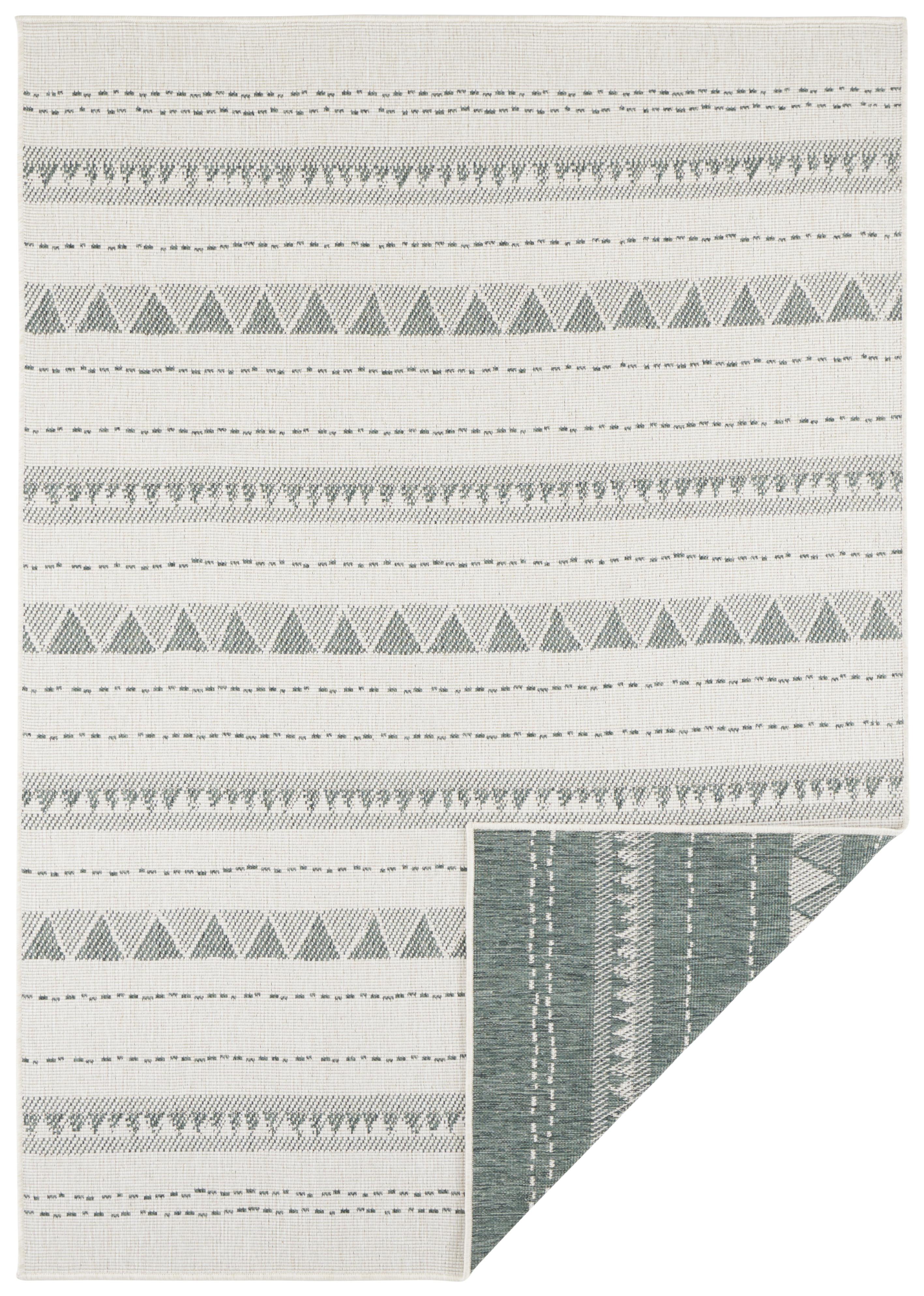 Bougari - Hanse Home koberce Kusový koberec Twin Supreme 103754 Green/Cream - 80x250 cm