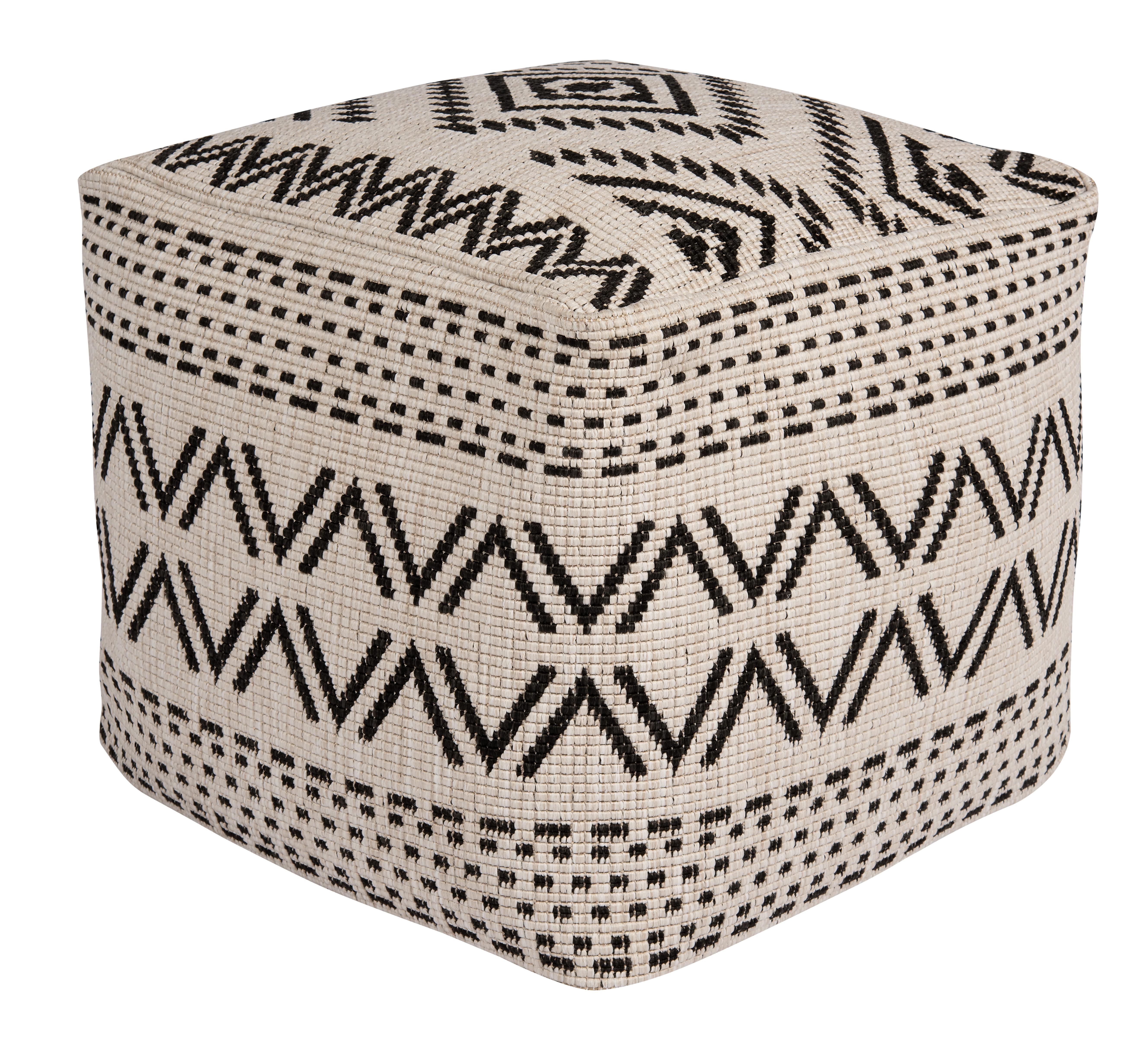 Bougari - Hanse Home koberce Venkovní sedací vak Sahara Black 103823 - 48 x 48 x 42 cm cm