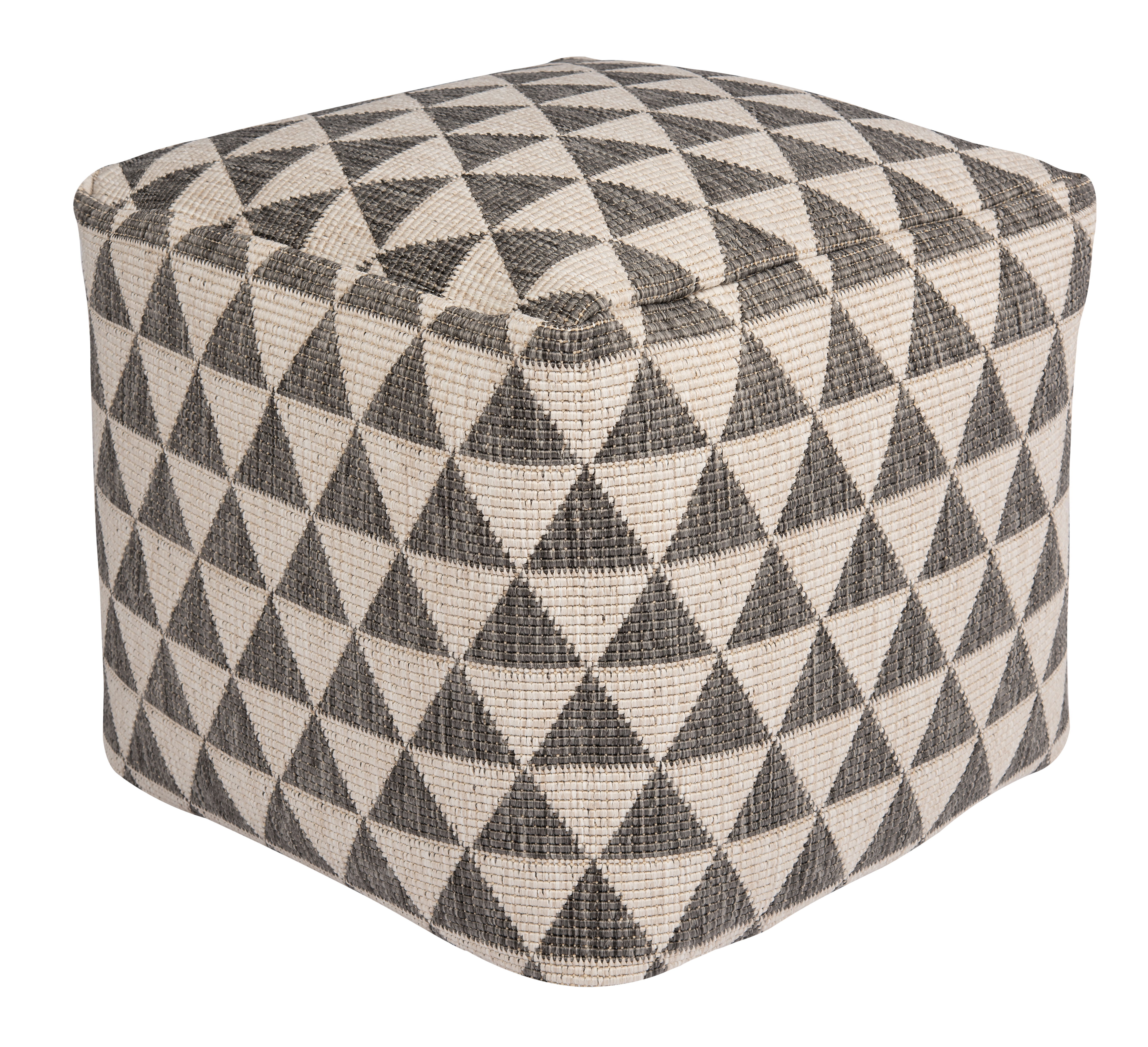 Bougari - Hanse Home koberce Venkovní sedací vak Kalahari Silver 103824 - 48 x 48 x 42 cm cm