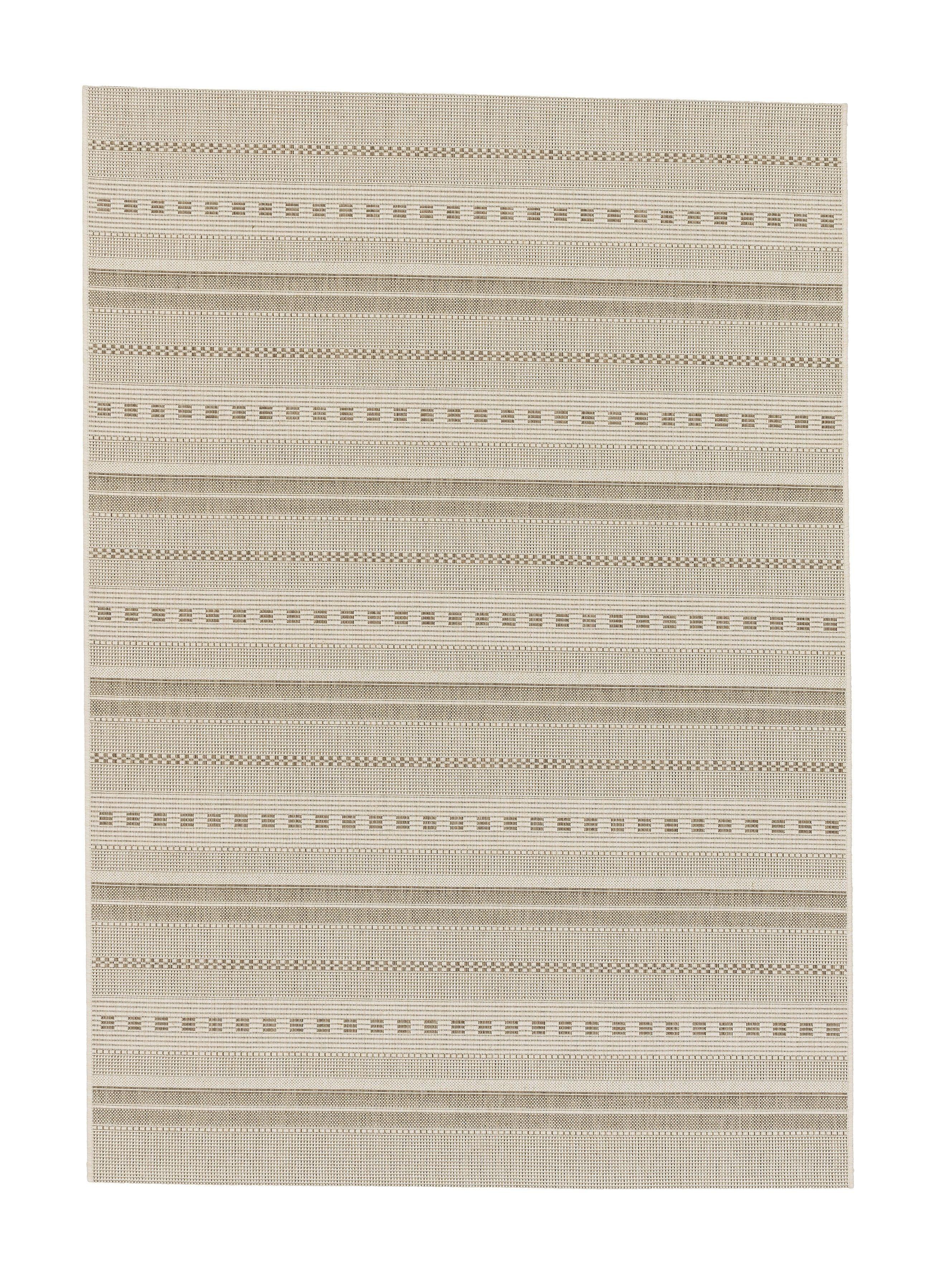 Astra - Golze koberce Kusový koberec Andria 162006 Stripes Champagner - 120x170 cm