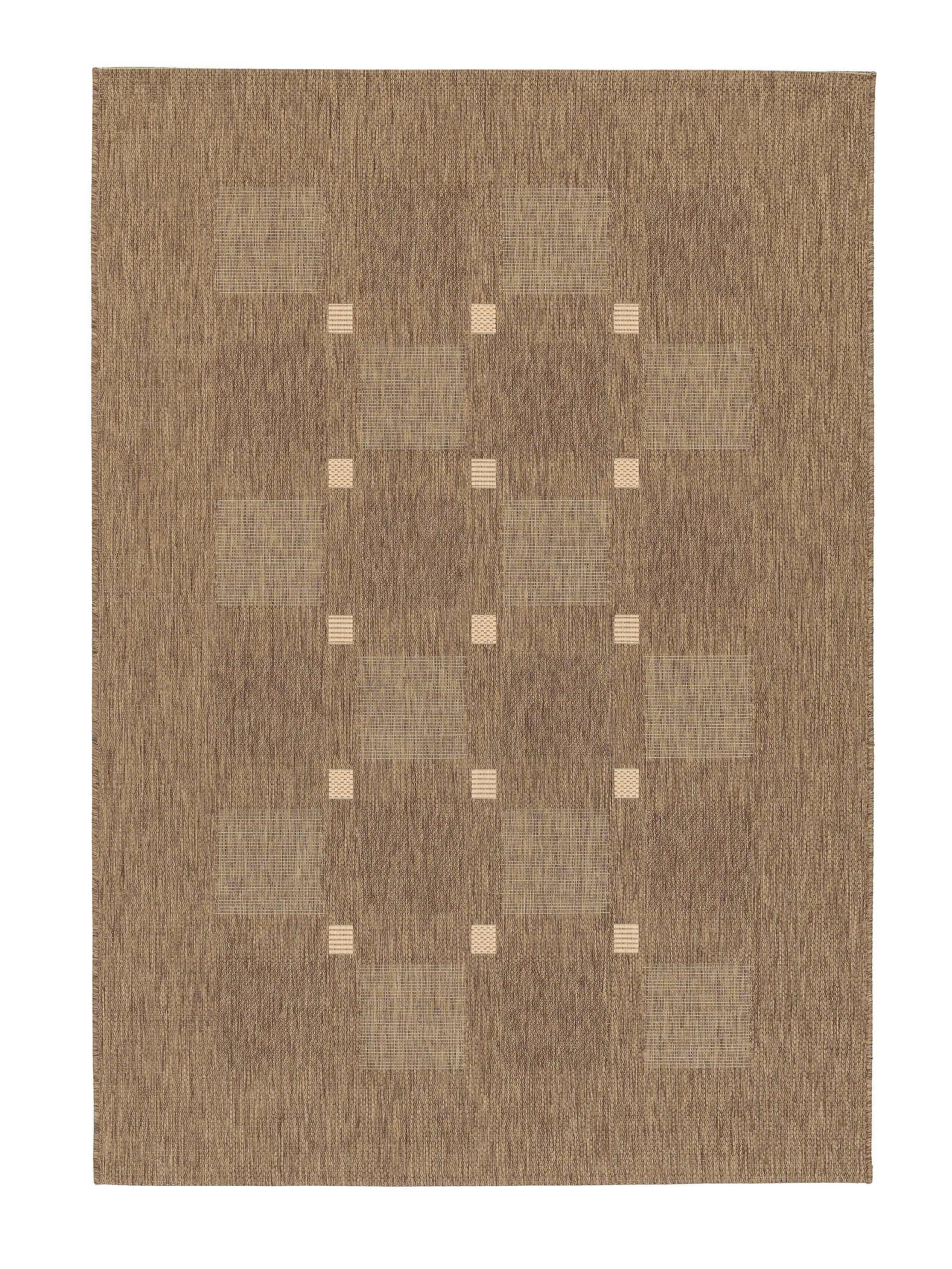 Astra - Golze koberce Kusový koberec Andria 163060 Squares Coffee - 160x230 cm
