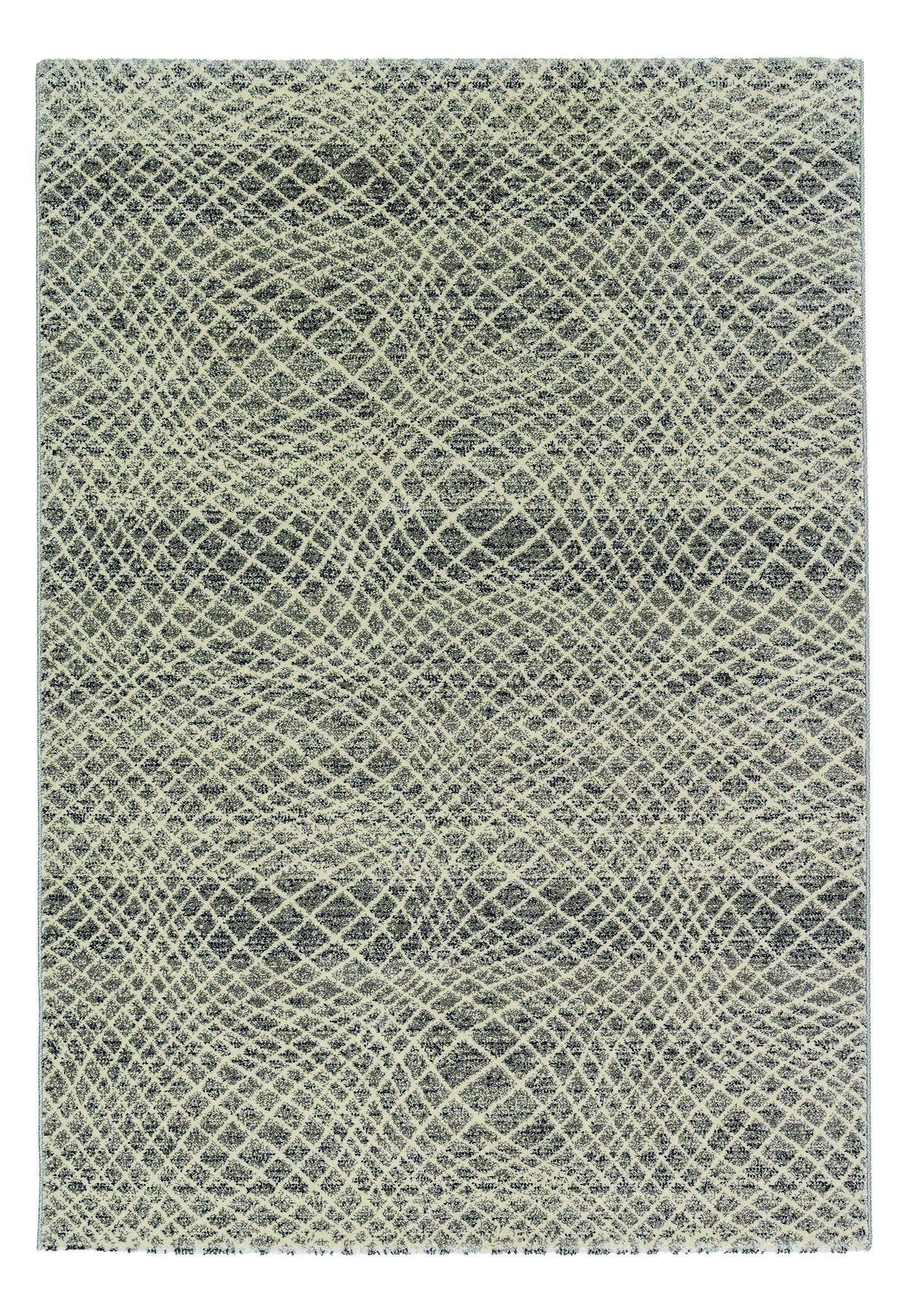 Astra - Golze koberce Kusový koberec Carpi 151004 Stripes Silver - 133x190 cm