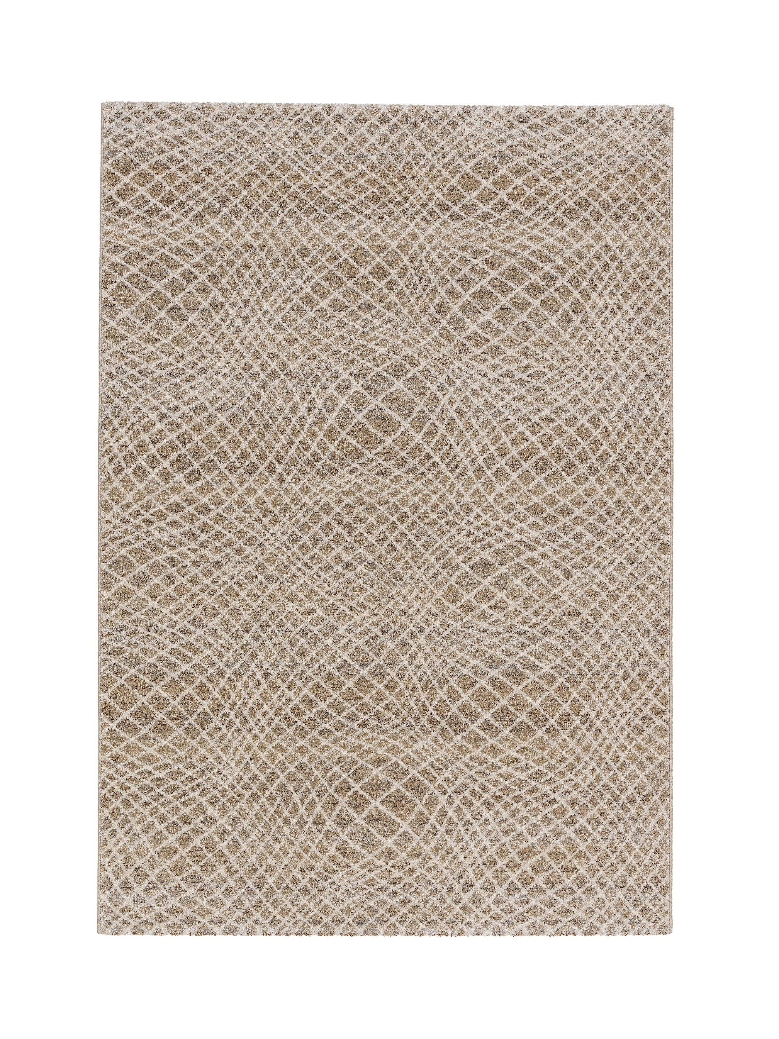 Astra - Golze koberce Kusový koberec Carpi 151006 Stripes Beige - 133x190 cm