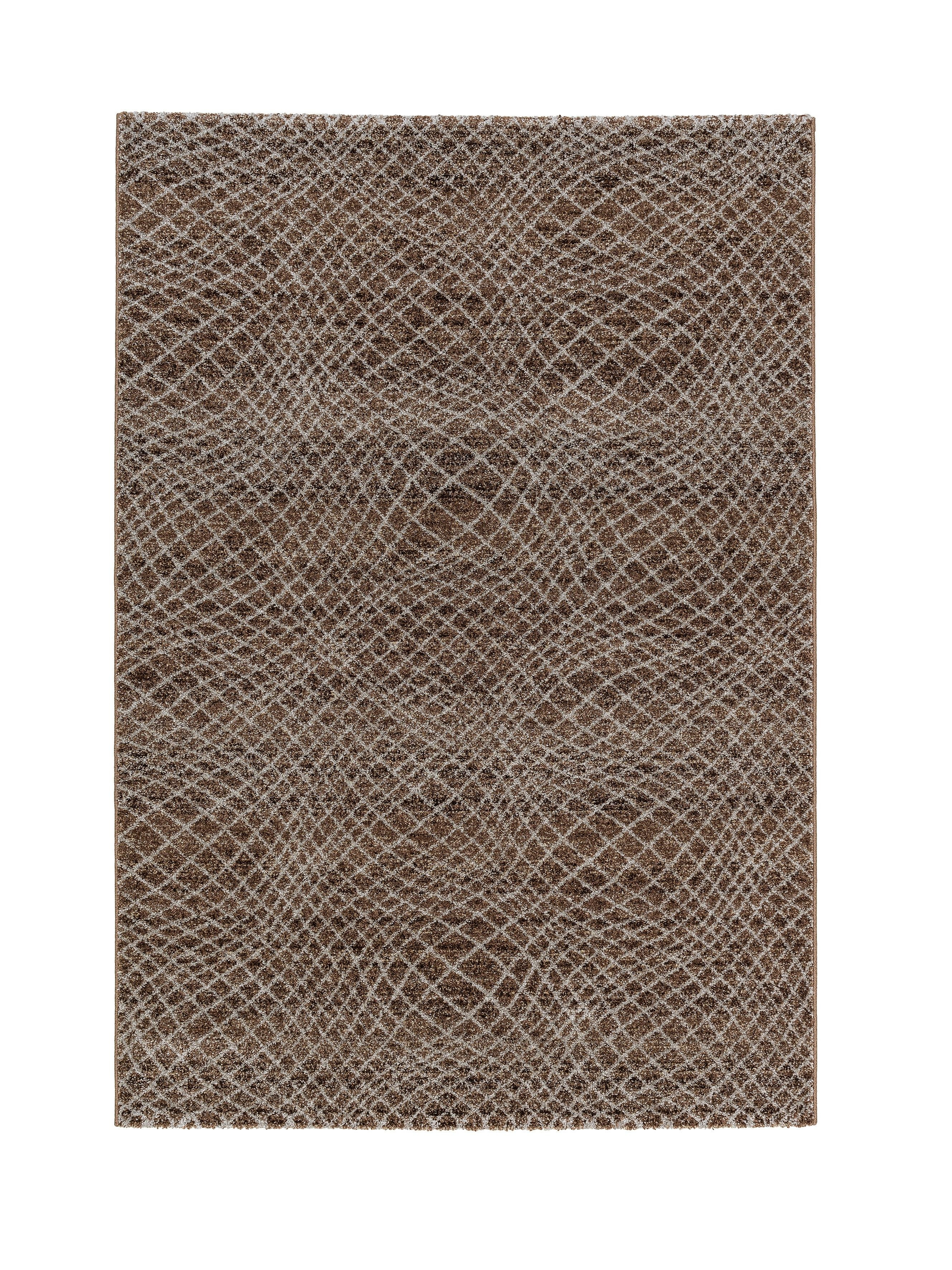 Astra - Golze koberce Kusový koberec Carpi 151060 Stripes Brown - 133x190 cm