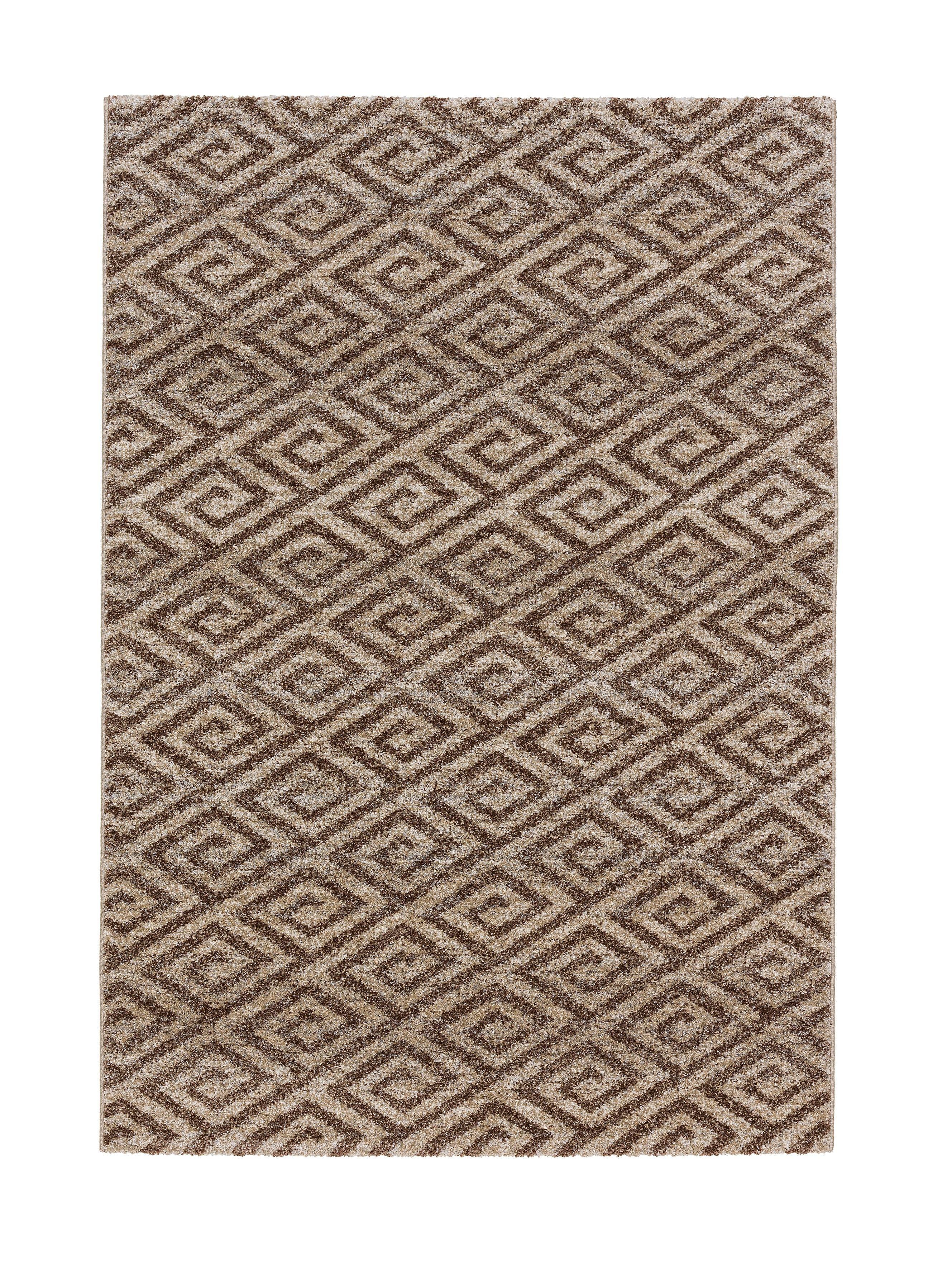 Astra - Golze koberce Kusový koberec Carpi 152006 Diamonds Beige - 200x290 cm