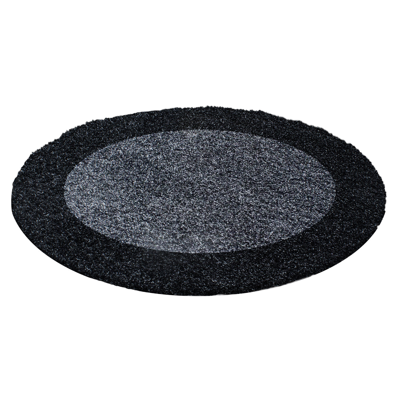 Ayyildiz koberce Kusový koberec Life Shaggy 1503 anthracit kruh - 120x120 (průměr) kruh cm