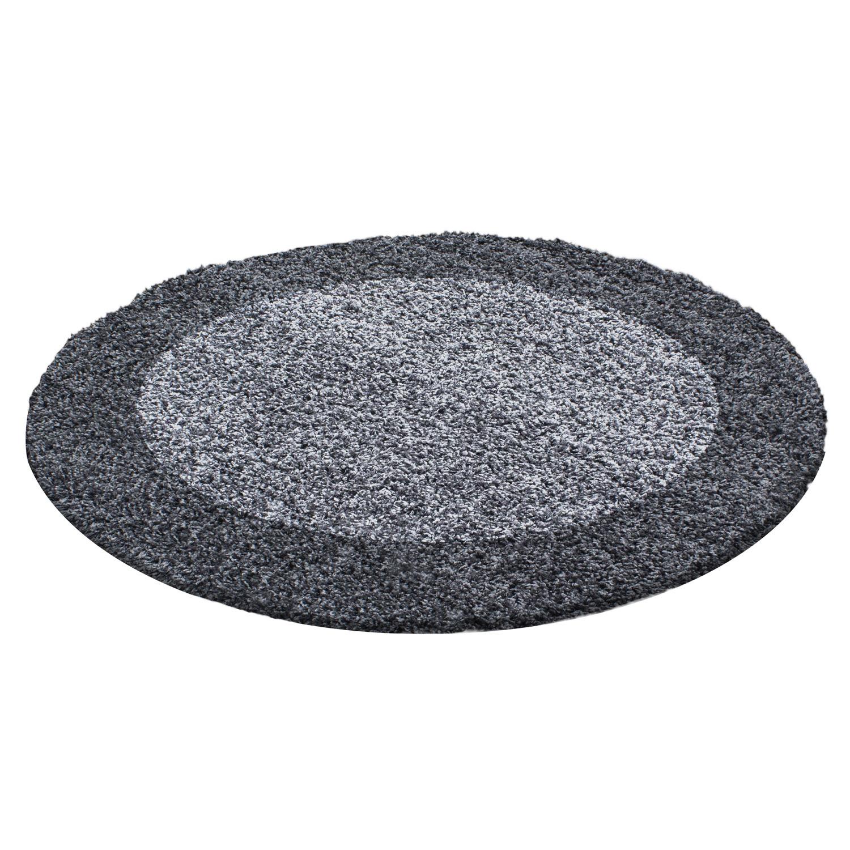 Ayyildiz koberce Kusový koberec Life Shaggy 1503 grey kruh - 120x120 (průměr) kruh cm