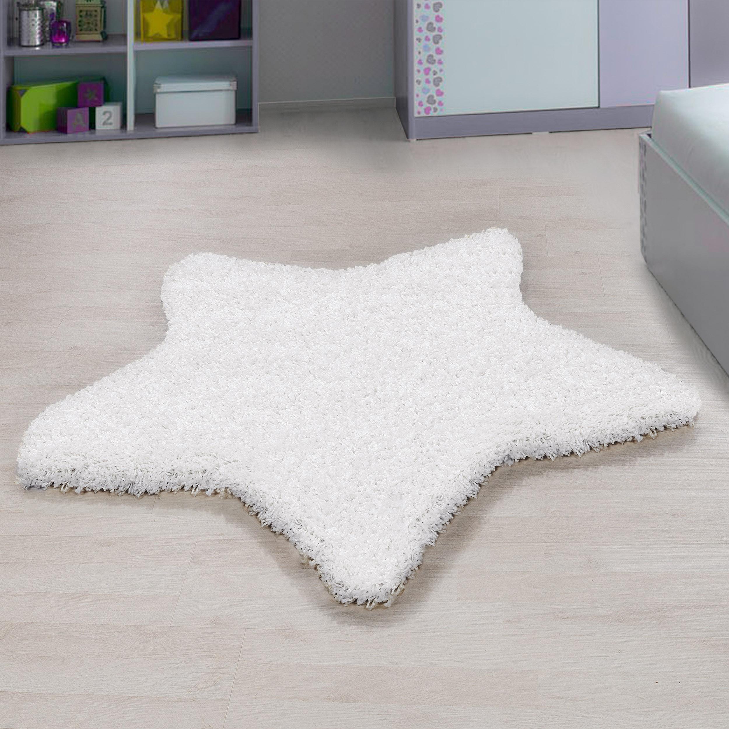 Ayyildiz koberce Kusový koberec Star 1300 white - 100x100 hvězda cm