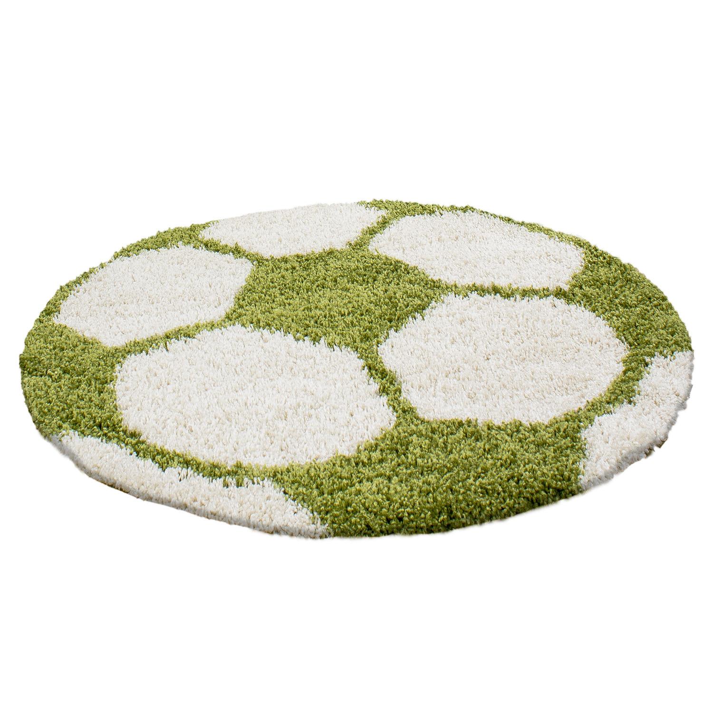 Ayyildiz koberce Kusový koberec Fun 6001 green - 100x100 (průměr) kruh cm