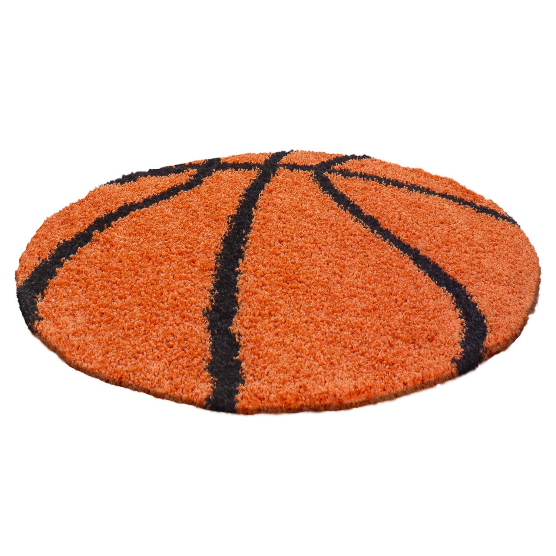 Ayyildiz koberce Kusový koberec Fun 6002 orange - 100x100 (průměr) kruh cm