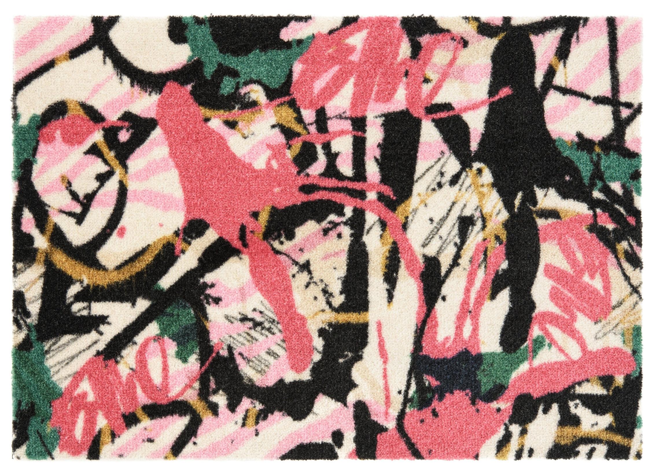 ELLE Decor koberce Protiskluzová rohožka Viva 104031 Multicolor z kolekce Elle - 50x70 cm