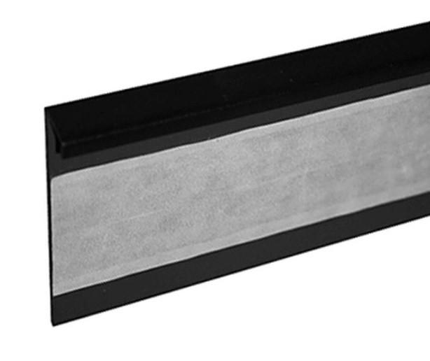 Lišta TL55 110 černá 125 cm - Lišta 55x10x1250 mm
