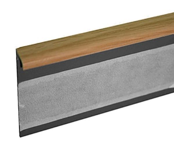 Lišta TL55 33 dub světlý 125 cm - Lišta 55x10x1250 mm