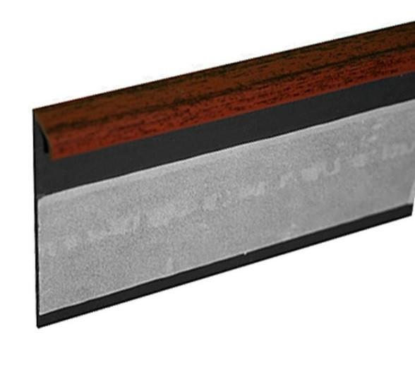 Lišta TL55 54 mahagon 125 cm - Lišta 55x10x1250 mm