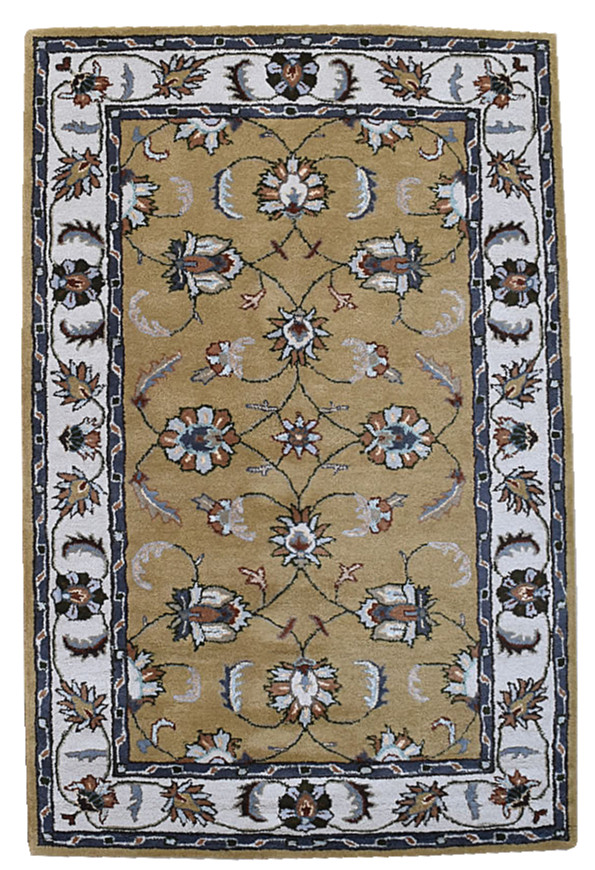 KUDOS Textiles Pvt. Ltd. Ručně všívaný vlněný koberec DOO-43 - 160x230 cm