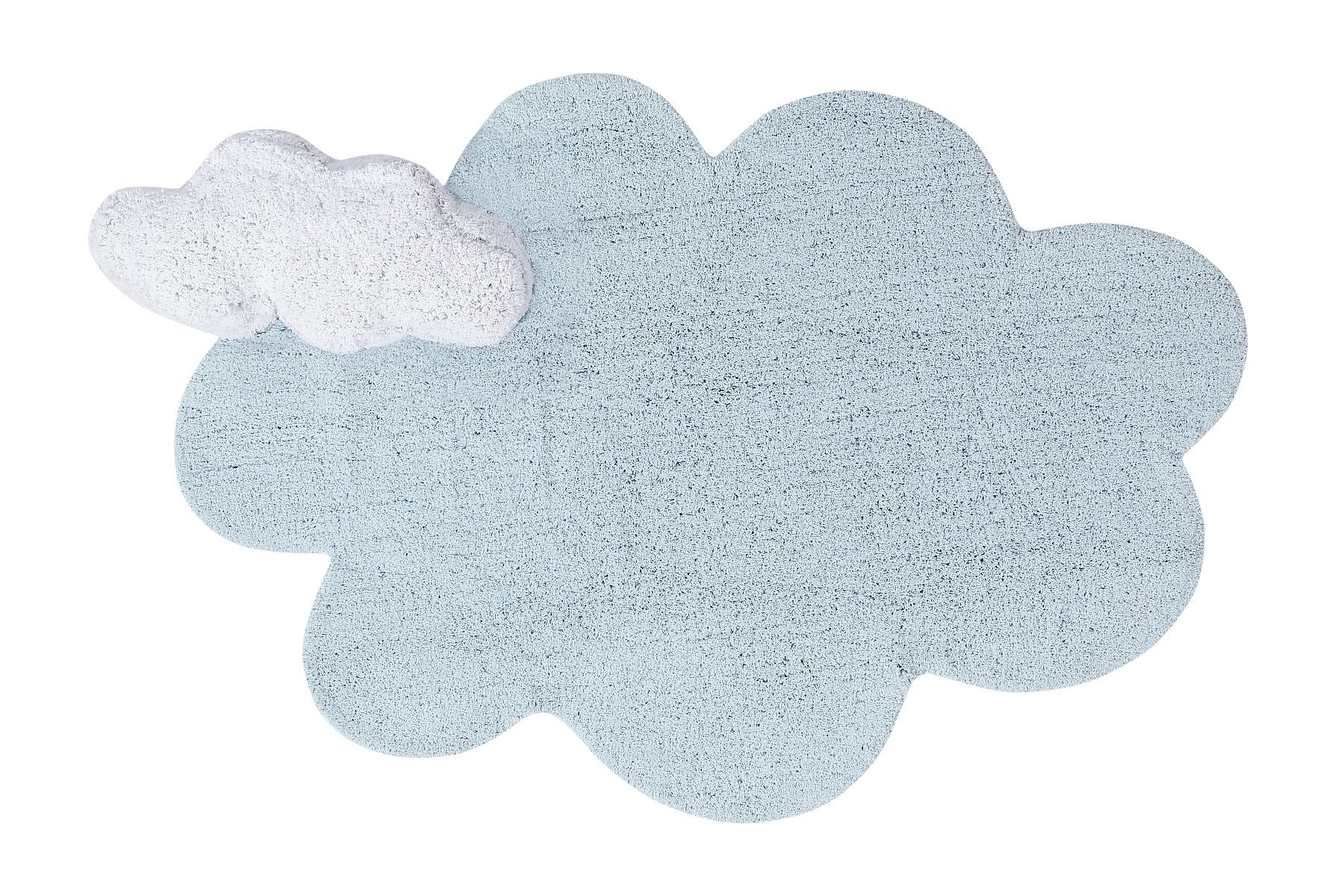 Lorena Canals koberce Pro zvířata: Pratelný koberec Puffy Dream - 110x170 mrak cm