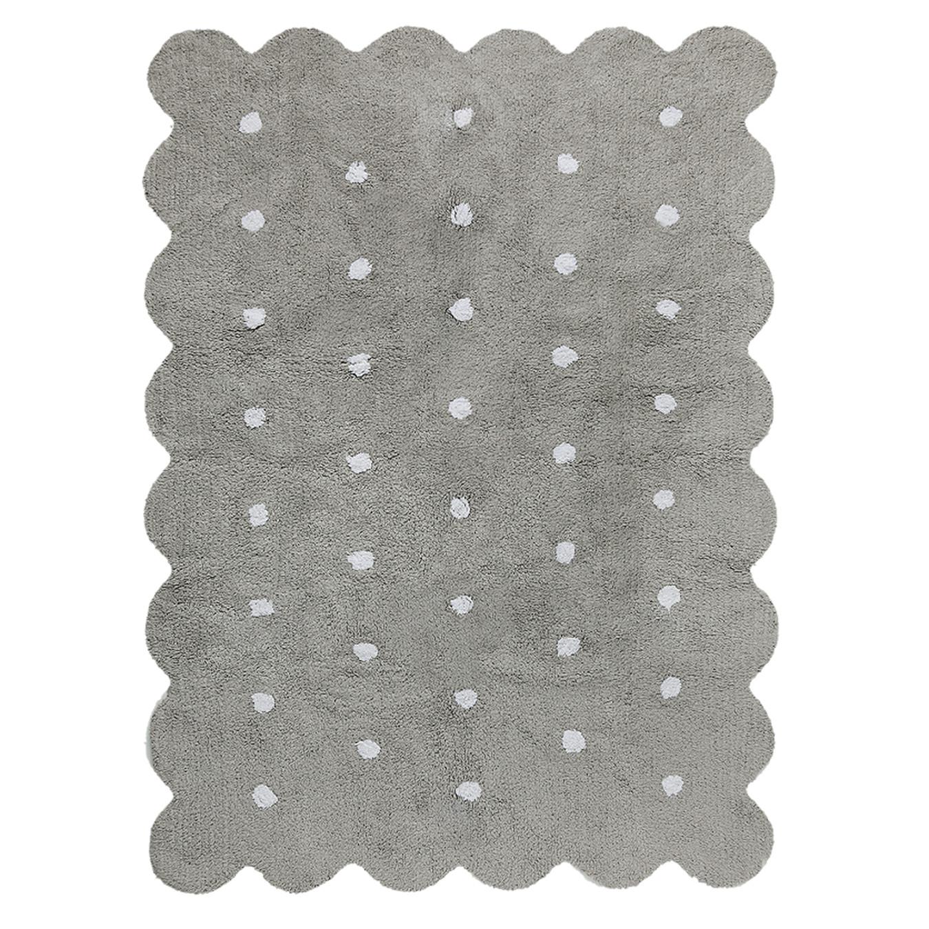 Lorena Canals koberce Pro zvířata: Pratelný koberec Biscuit Grey - 120x160 cm