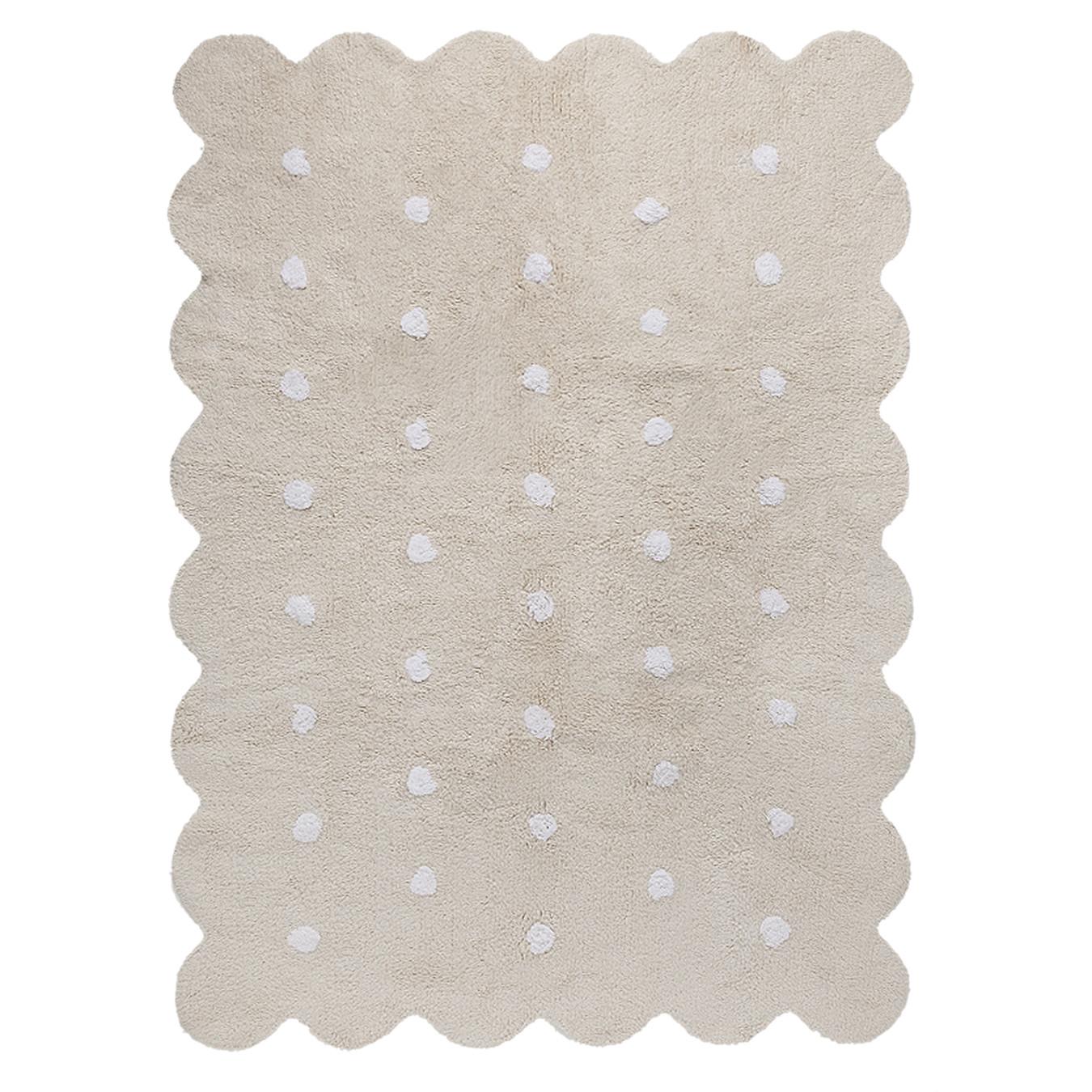 Lorena Canals koberce Pro zvířata: Pratelný koberec Biscuit Beige - 120x160 cm