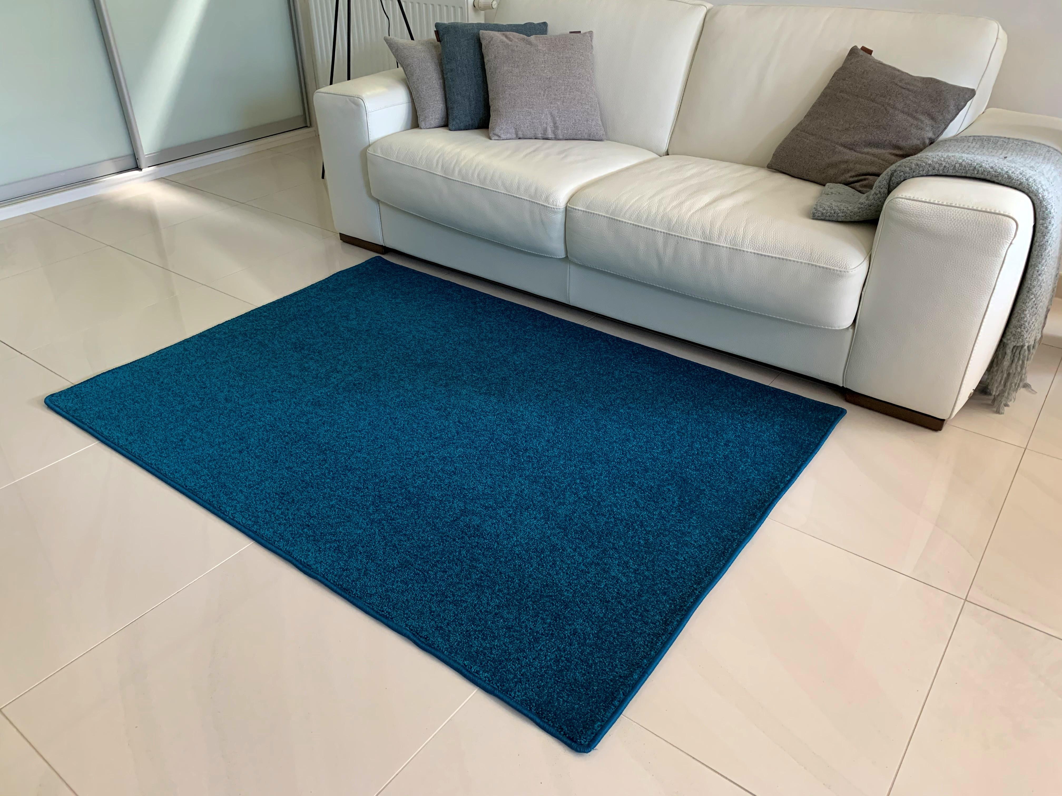 Levně Vopi koberce Kusový koberec Eton Exklusive turkis - 280x370 cm Modrá