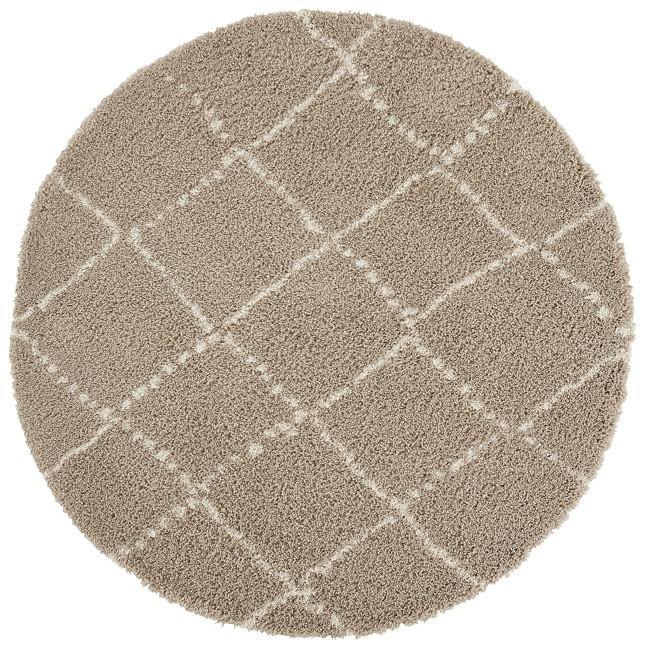 Mint Rugs - Hanse Home koberce Kusový koberec Allure 104405 Beige/Cream - 120x120 (průměr) kruh cm