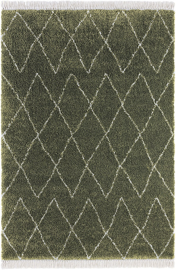 Mint Rugs - Hanse Home koberce Kusový koberec Desire 104402 Olive-Green/Cream - 120x170 cm